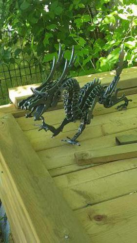 Fabricated Metal Dragon