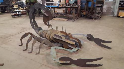 Fabricated Metal Scorpion