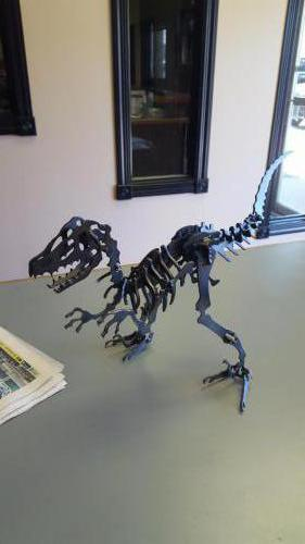 Fabricated Metal Dinosaur
